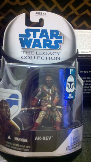 Star Wars Legacy Collection Wave 1 Ak-Rev First Day Of Issue Action Figure